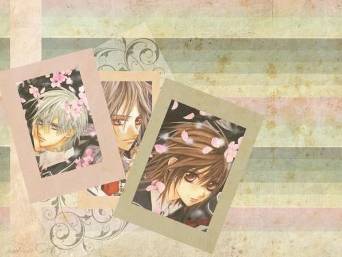Matsuri Hino, Vampire Knight, Kaname Kuran, Zero Kiryuu, Yuuki Cross Wallpaper