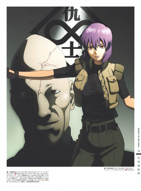 Masamune Shirow, Production I.G, Ghost in the Shell, The Art of Tetsuya Nishio: Full Spectrum, Kazundo Goda