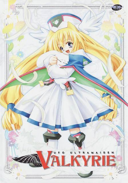Kaishaku, UFO Princess Valkyrie, Spot (UFO Princess Valkyrie), Valkyrie (UFO Princess Valkyrie), DVD Cover