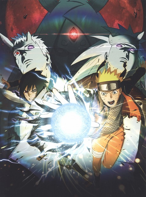 Naruto, The Art of Tetsuya Nishio: Full Spectrum, Naruto Uzumaki, Sasuke Uchiha, Kaguya Otsutsuki