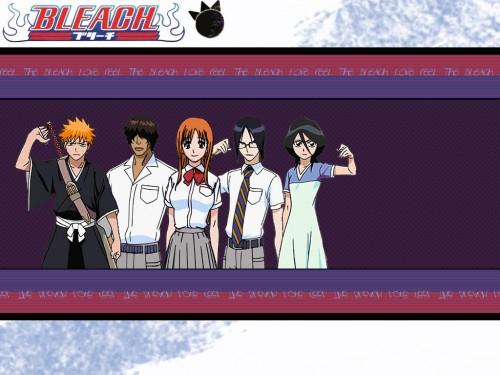 Kubo Tite, Studio Pierrot, Bleach, Yasutora Sado, Rukia Kuchiki Wallpaper