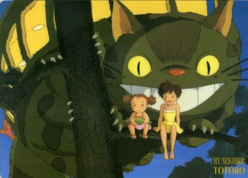 Studio Ghibli, My Neighbor Totoro, Catbus, Totoro, Satsuki Kusakabe