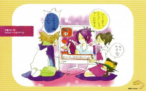 Akira Amano, Katekyo Hitman Reborn!, Colore!, Haru Miura, Mukuro Rokudo