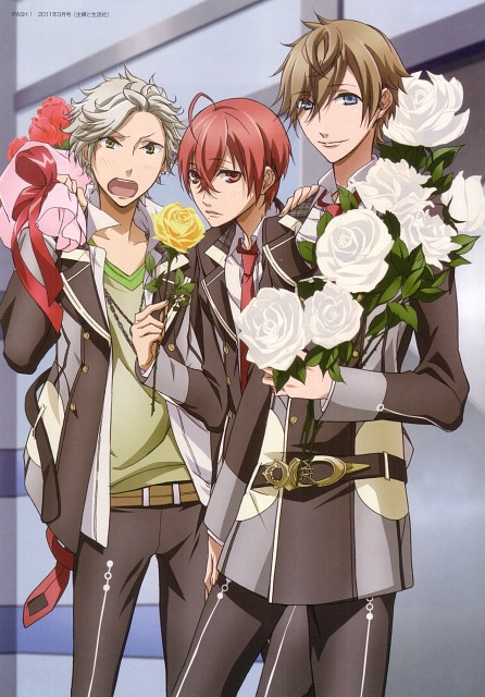 Kazuaki, Starry Sky Animation Official Visual Guide - My Perfect Sky, Starry Sky, Suzuya Tohzuki, Yoh Tomoe