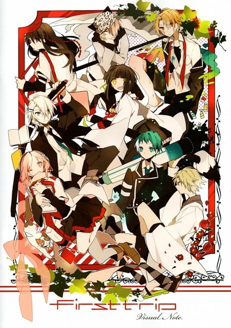 Akina, Mikagura School Suite, First Trip - Visual Note, Vocaloid, Eruna Ichinomiya