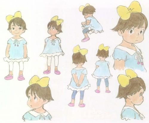 Hayao Miyazaki, Studio Ghibli, Gake no Ue no Ponyo, The Art of - Ponyo, Kumiko