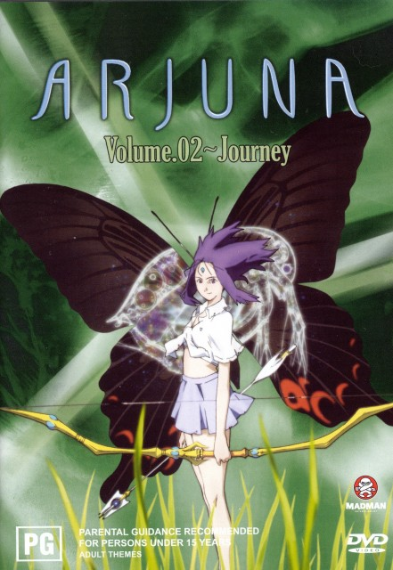 Satelight, Arjuna, Juna Ariyoshi, DVD Cover