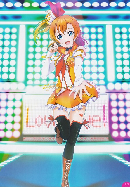 Sunrise (Studio), School Idol Festival Official Illustration Book, Love Live! School Idol Project, Honoka Kosaka