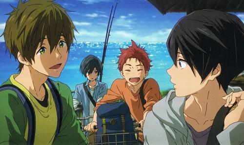 Kyoto Animation, Free!, Makoto Tachibana, Haruka Nanase (Free!), Ikuya Kirishima