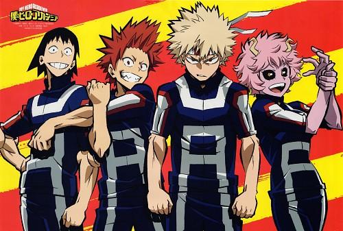 Kouhei Horikoshi, BONES, Boku no Hero Academia, Eijirou Kirishima, Mina Ashido
