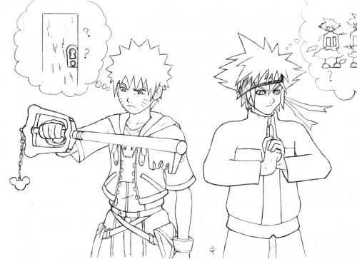 Studio Pierrot, Naruto, Kingdom Hearts, Naruto Uzumaki, Sora