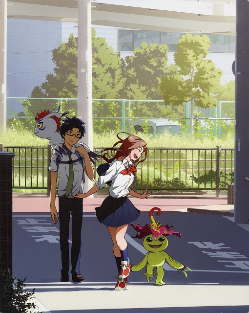 Toei Animation, Digimon Adventure, Mimi Tachikawa, Jou Kido, DVD Cover