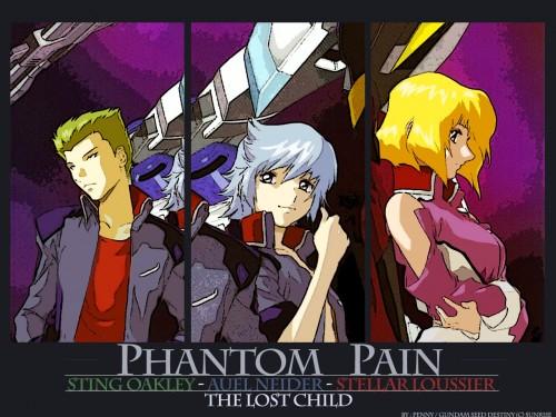 Sunrise (Studio), Mobile Suit Gundam SEED Destiny, Auel Neider, Sting Oakley, Stellar Loussier Wallpaper