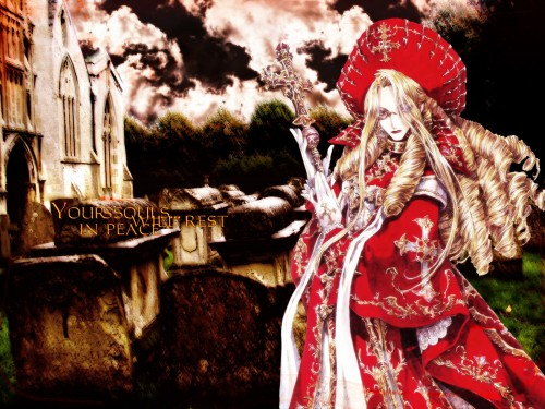 Gonzo, Trinity Blood, Caterina Sforza Wallpaper