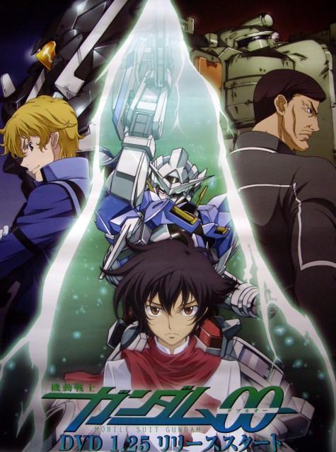 Mobile Suit Gundam 00, Graham Aker, Sergei Smirnov, Setsuna F. Seiei