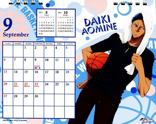 Tadatoshi Fujimaki, Production I.G, Kuroko no Basket, Kuroko No Basket Calendar 2015, Daiki Aomine