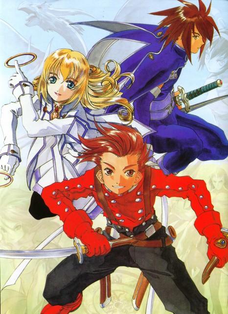 Namco, Tales of Symphonia, Lloyd Irving, Kratos Aurion, Colette Brunel