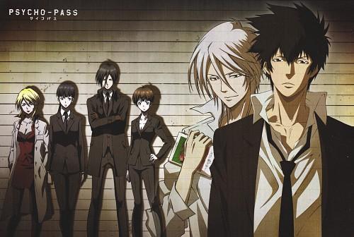 Production I.G, PSYCHO-PASS, Yayoi Kunizuka, Akane Tsunemori, Ginoza Nobuchika