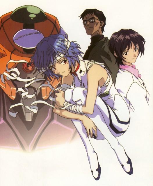 Yoshiyuki Sadamoto, Neon Genesis Evangelion, Yui Ikari, Unit-00, Gendo Ikari