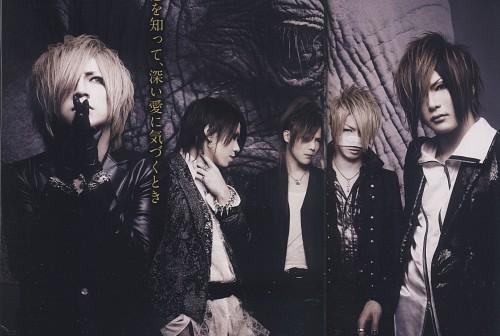 Aoi (J-Pop Idol), Uruha, Gazette, Ruki, Kai