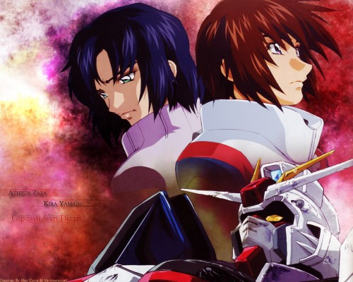 Sunrise (Studio), Mobile Suit Gundam SEED Destiny, Kira Yamato, Athrun Zala Wallpaper