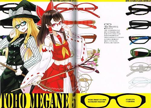 Tetsuhiro Nabeshima, Lunade Luna, TOUHOU MEGANE Complete, Touhou, Marisa Kirisame