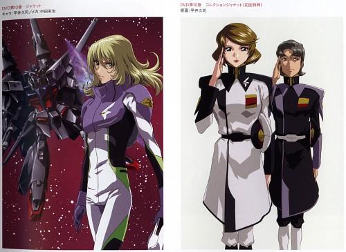 Hisashi Hirai, Sunrise (Studio), Mobile Suit Gundam SEED Destiny, Rey Za Burrel, Talia Gladys