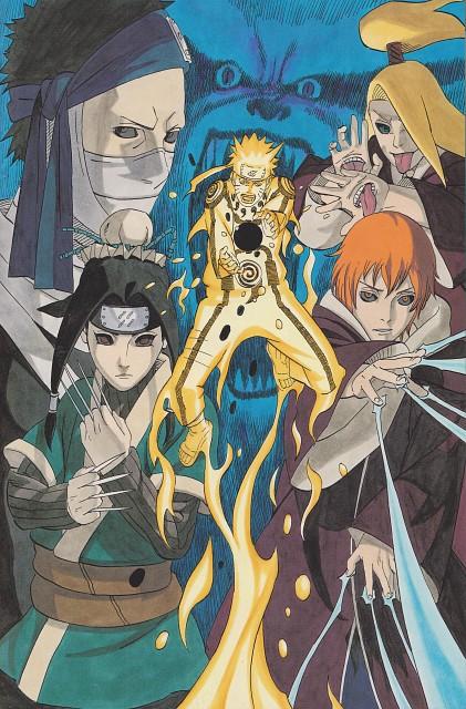 Naruto, Naruto Uzumaki, Haku , Momochi Zabuza, Deidara