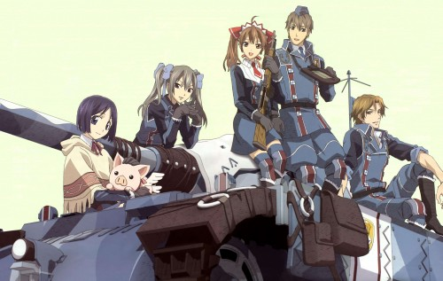 Atsuko Watanabe, A-1 Pictures, Valkyria Chronicles, Hans, Isara Gunther