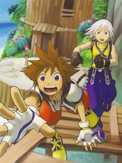 Shiro Amano, Kingdom Hearts, Kairi, Riku, Sora