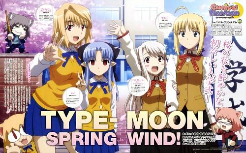 Tomohito Hirose, TYPE-MOON, Lerche, Carnival Phantasm, Hisui (Shingetsutan Tsukihime)