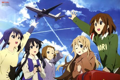 Hiroko Utsumi, Kakifly, Kyoto Animation, K-On!, Mio Akiyama