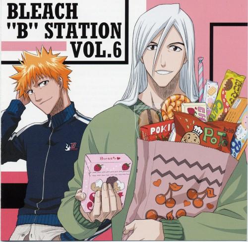 Studio Pierrot, Bleach, Juushirou Ukitake, Ichigo Kurosaki, Album Cover