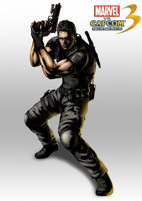 Capcom, Marvel vs Capcom 3, Chris Redfield, Official Digital Art