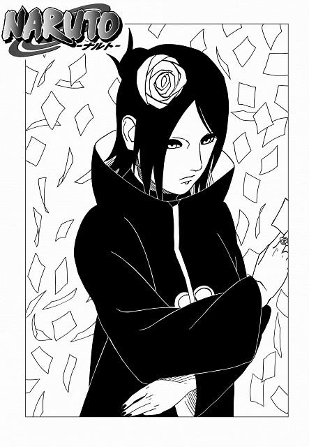 Masashi Kishimoto, Naruto, Konan