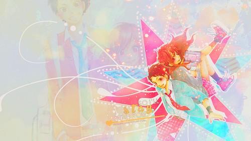 Robico, Brains Base, Tonari no Kaibutsu-kun, Souhei Sasahara, Asako Natsume Wallpaper