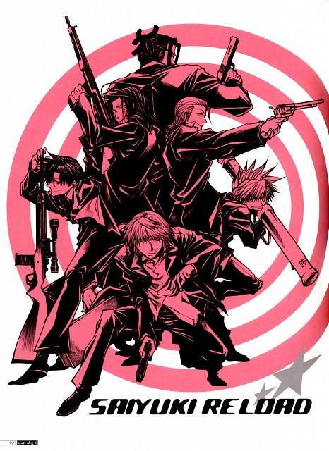 Kazuya Minekura, Studio Pierrot, Saiyuki, Salty Dog VI, Gatti Nenehawk