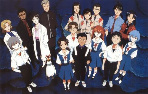 Yoshiyuki Sadamoto, Gainax, Neon Genesis Evangelion, Die Sterne, Kaji Ryoji