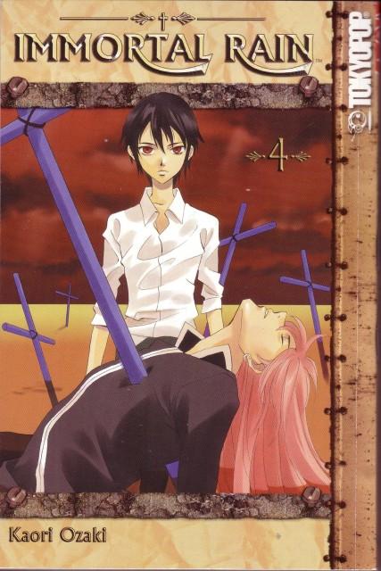 Kaori Ozaki, Immortal Rain, Yuca Collabel, Rain Jewlitt, Manga Cover