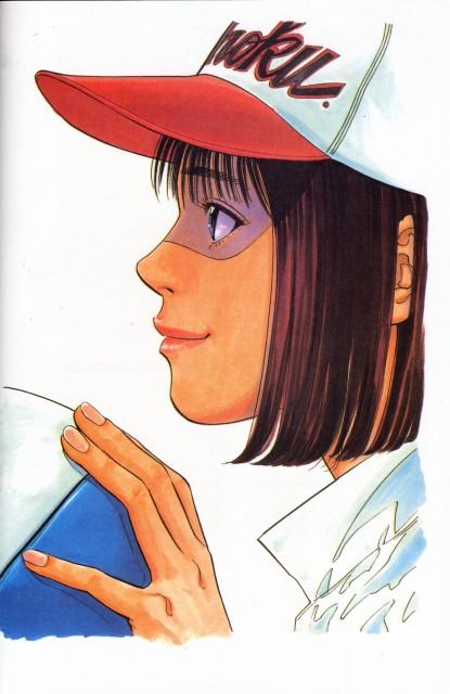 Takehiko Inoue, Slam Dunk, Inoue Takehiko Illustrations, Haruko Akagi
