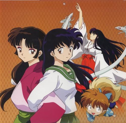 Rumiko Takahashi, Inuyasha, Kikyou, Shippou, Sango