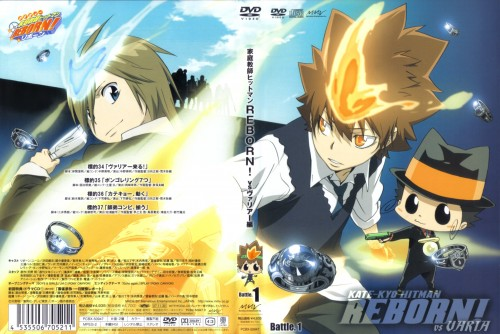 Akira Amano, Artland, Katekyo Hitman Reborn!, Reborn (Character), Basil