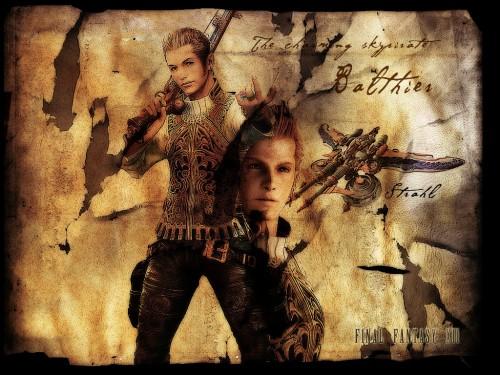 Square Enix, Final Fantasy XII, Balthier Wallpaper