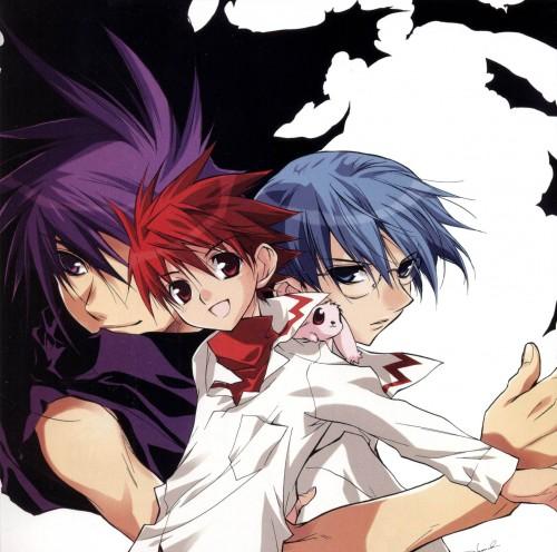 Yukiru Sugisaki, Xebec, D.N.Angel, With (D.N.Angel), Satoshi Hiwatari