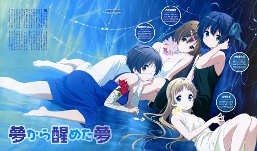 Kyoto Animation, Chuunibyou demo Koi ga Shitai!, Kumin Tsuyuri, Rikka Takanashi, Shinka Nibutani