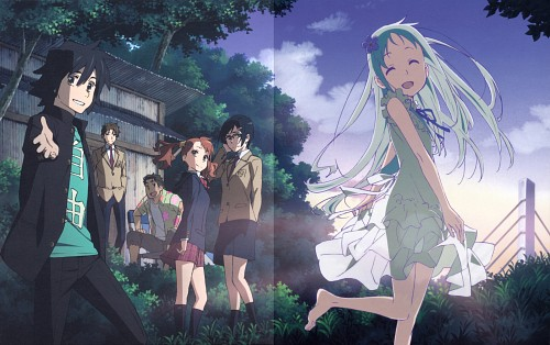 A-1 Pictures, AnoHana, Atsumu Matsuyuki, Tetsudou Hisakawa, Naruko Anjou