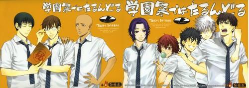 Prince of Tennis, Renji Yanagi, Seiichi Yukimura, Masaharu Niou, Akaya Kirihara