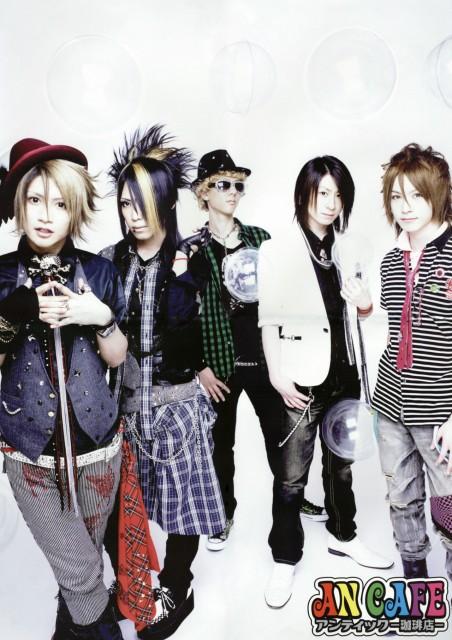 Yuuki (J-Pop Idol), An Cafe, Teruki, Takuya (J-Pop Idol), Kanon (J-Pop Idol)