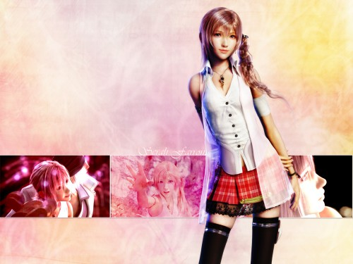 Square Enix, Final Fantasy XIII, Serah Farron Wallpaper