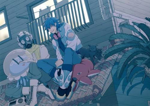 Honyarara, Nitro+, DRAMAtical Murder, Clear (DRAMAtical Murder), Aoba Seragaki